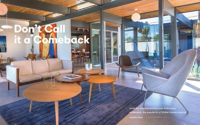 AN INTERIORS 3: Don't Call it a Comeback (Cover Story pg. 43)