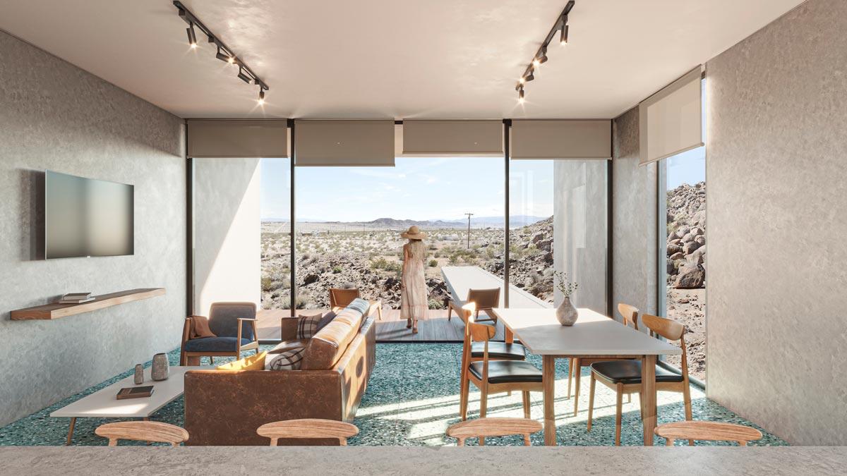 El Cemento Living Room